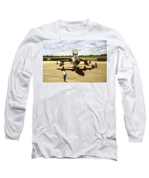 My Baby F-105 Long Sleeve T-Shirt
