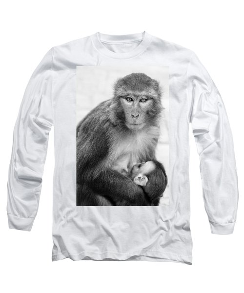 My Baby Long Sleeve T-Shirt by James David Phenicie