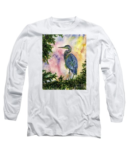 My Blue Heron Long Sleeve T-Shirt