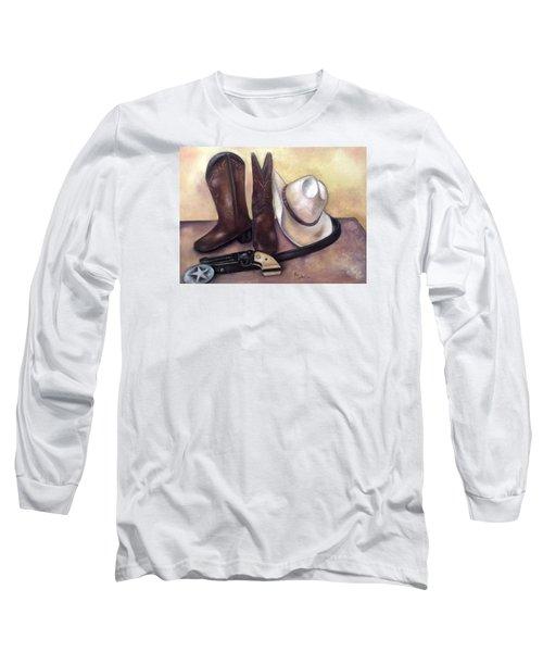 My Cowboy's Home Long Sleeve T-Shirt