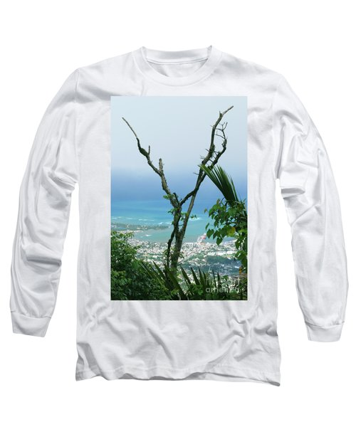 My Favorite Wishbone Between A Mountain And The Beach Long Sleeve T-Shirt