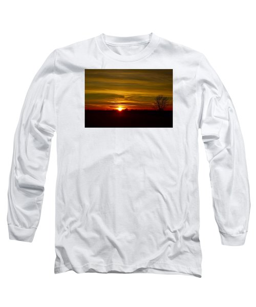 My First 2016 Sunset Photo Long Sleeve T-Shirt