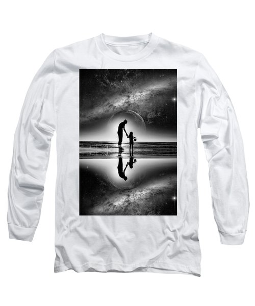 My Future Long Sleeve T-Shirt by Kevin Cable