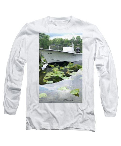 My Grandson's Boat Long Sleeve T-Shirt