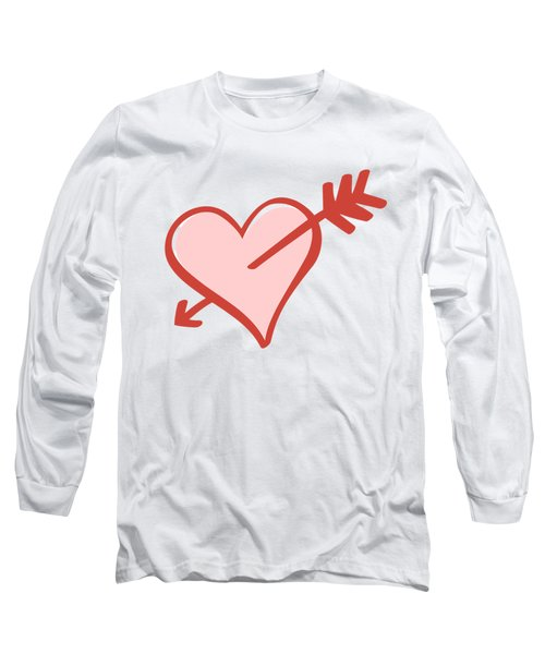 My Heart Long Sleeve T-Shirt by Alice Gipson