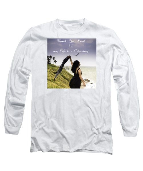 My Life A Blessing Long Sleeve T-Shirt