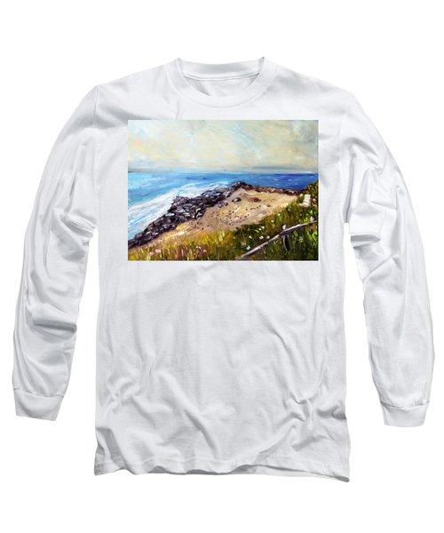 My Little Patch Of Beach Long Sleeve T-Shirt