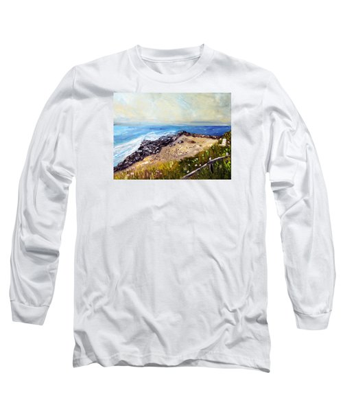 My Little Patch Of Beach Long Sleeve T-Shirt