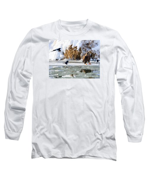 My Lunch Long Sleeve T-Shirt by Mike Dawson