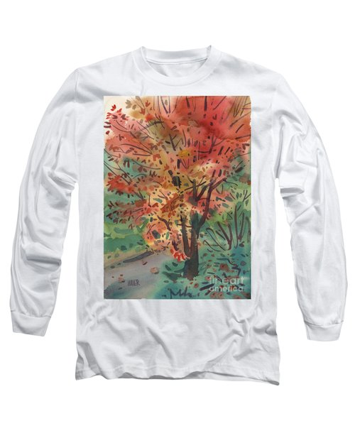 My Maple Tree Long Sleeve T-Shirt by Donald Maier