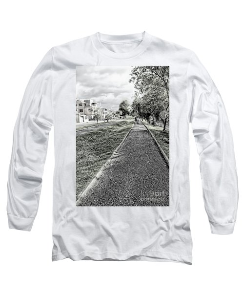 Long Sleeve T-Shirt featuring the photograph My Street II by Al Bourassa
