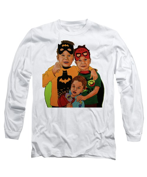 My Three Grandsons Long Sleeve T-Shirt