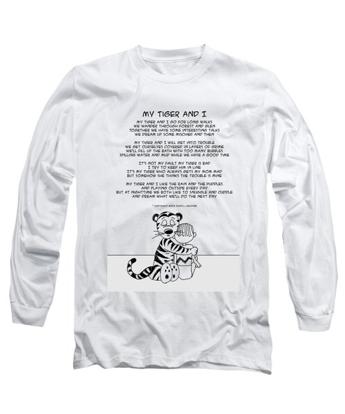 My Tiger And I Long Sleeve T-Shirt