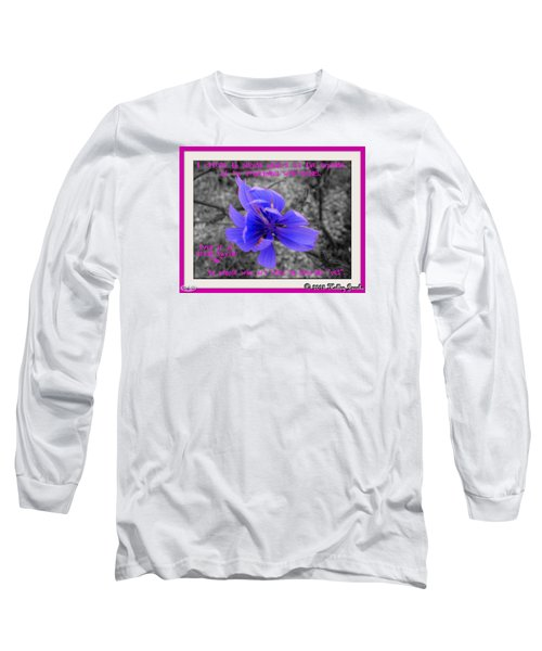 My Well-being Long Sleeve T-Shirt by Holley Jacobs