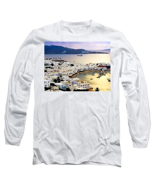 Mykonos Greece Long Sleeve T-Shirt