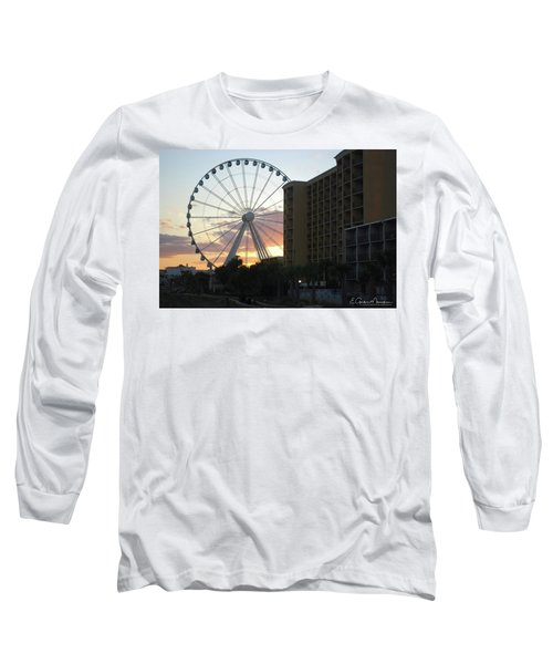 Myrtle Beach Sunset 2 Long Sleeve T-Shirt by Gordon Mooneyhan