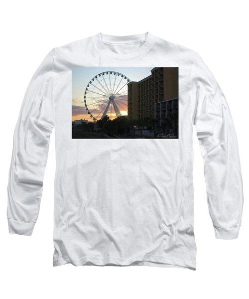Myrtle Beach Sunset 2 Long Sleeve T-Shirt