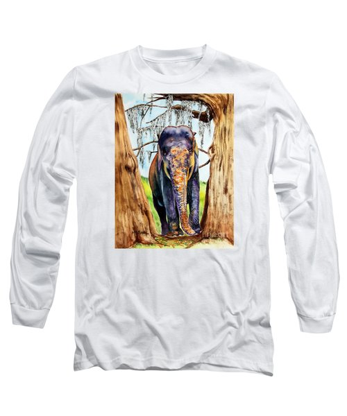 Mysore Long Sleeve T-Shirt by Maria Barry