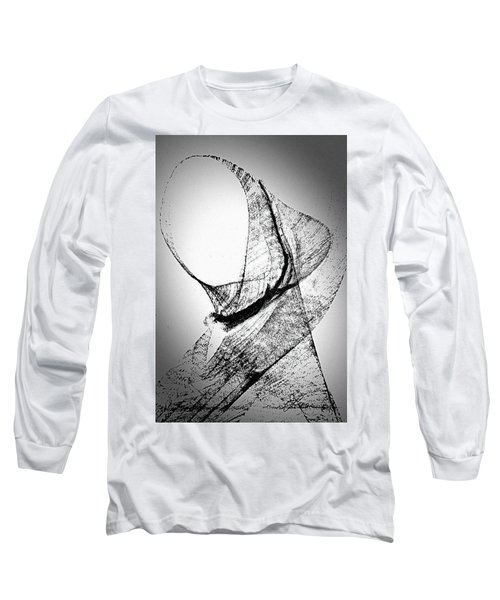 Long Sleeve T-Shirt featuring the painting Mysterious Lady by Joan Reese