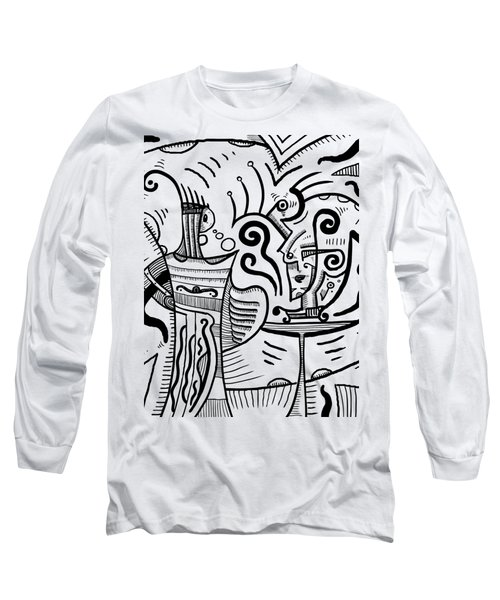 Mystical Powers Long Sleeve T-Shirt by Sotuland Art