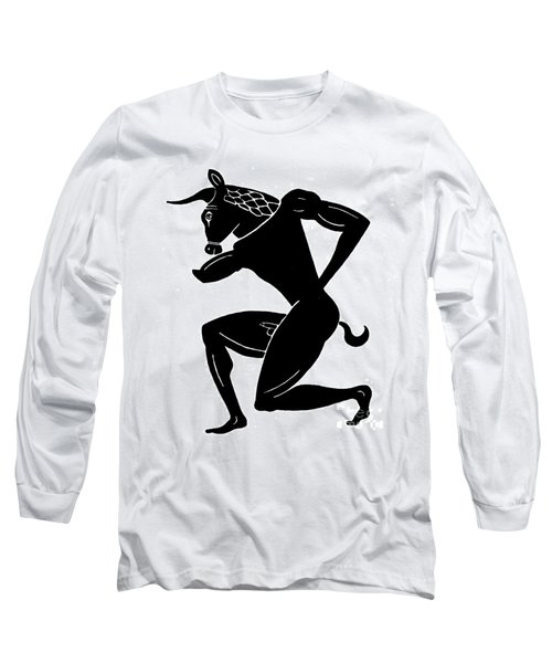 Mythology: Minotaur Long Sleeve T-Shirt by Granger