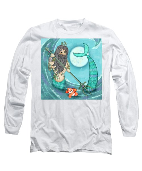 N Is For Neptune Long Sleeve T-Shirt