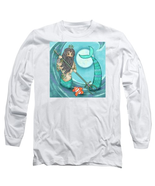 N Is For Neptune Long Sleeve T-Shirt