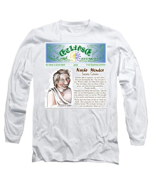 Real Fake News Society Column 1 Long Sleeve T-Shirt