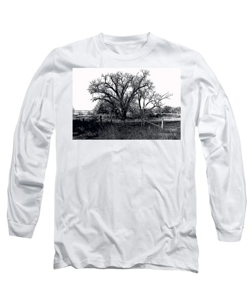 Naked Beauty Black And White Long Sleeve T-Shirt by Renie Rutten