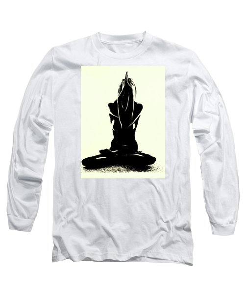 Namaste Long Sleeve T-Shirt by Susan Duda