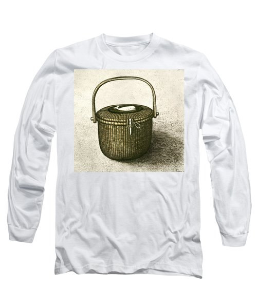 Nantucket Basket Long Sleeve T-Shirt by Charles Harden