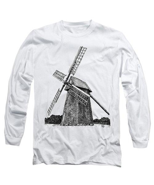 Nantucket Windmill Number One Long Sleeve T-Shirt
