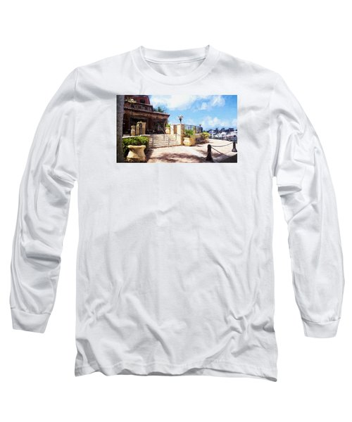 Naples Scenic Places Long Sleeve T-Shirt by Rena Trepanier