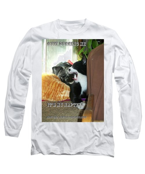 Long Sleeve T-Shirt featuring the photograph Naptime by Jewel Hengen