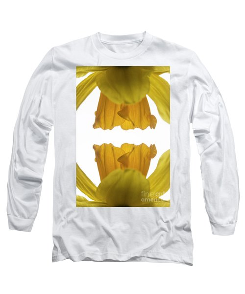 Narcissus Long Sleeve T-Shirt by Ana Mireles