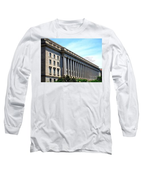 National Archives 2 Long Sleeve T-Shirt by Randall Weidner