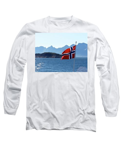 National Day Of Norway In May Long Sleeve T-Shirt by Tamara Sushko