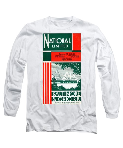 National Limited Long Sleeve T-Shirt