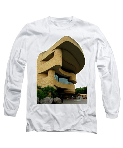 National Museum Of The American Indian 1 Long Sleeve T-Shirt by Randall Weidner