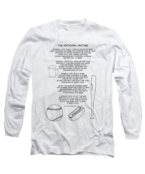 National Pastime Long Sleeve T-Shirt