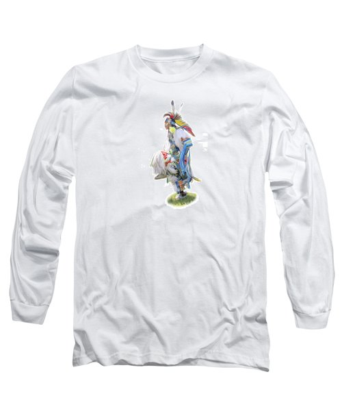 Native American Dancer Long Sleeve T-Shirt