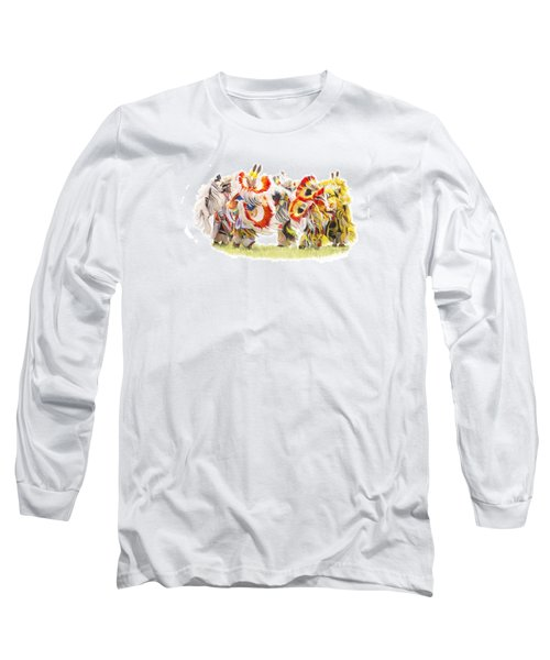 Native Color In Motion Long Sleeve T-Shirt