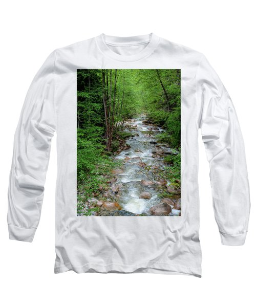 Naturally Pure Stream Backroad Discovery Long Sleeve T-Shirt
