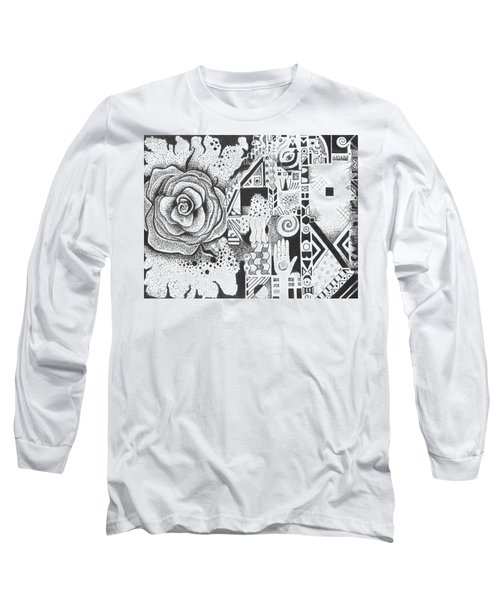 Nature Rules Aka That Which Remains Long Sleeve T-Shirt by Helena Tiainen