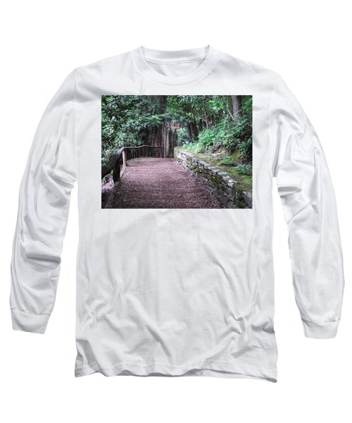 Long Sleeve T-Shirt featuring the photograph Nature Trail by Cathy Harper