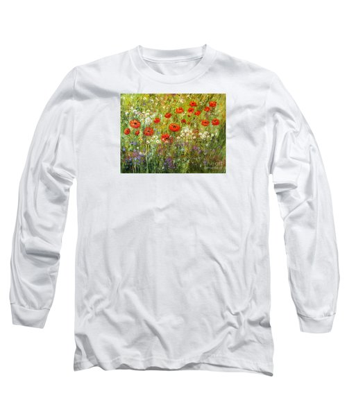 Nature Walk Long Sleeve T-Shirt by Valerie Travers