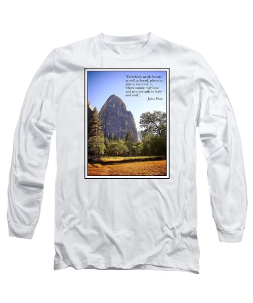 Natures Cathedral Long Sleeve T-Shirt by Glenn McCarthy Art and Photography