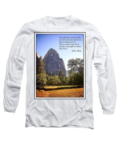 Natures Cathedral Long Sleeve T-Shirt