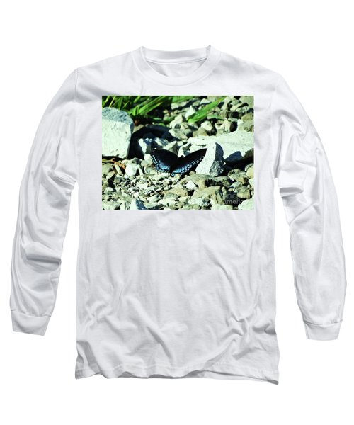 Long Sleeve T-Shirt featuring the photograph Nature's Cloak Of Color by J L Zarek