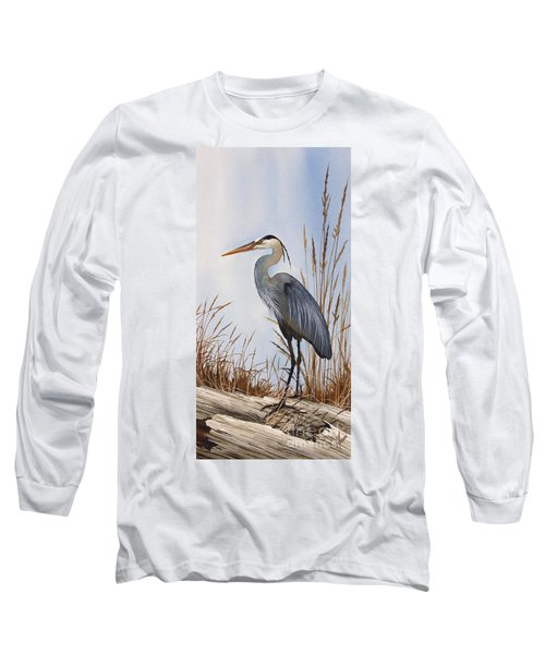 Nature's Gentle Beauty Long Sleeve T-Shirt by James Williamson